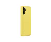 Huawei Silicone Case do Huawei P30 Pro żółty - 484456 - zdjęcie 3