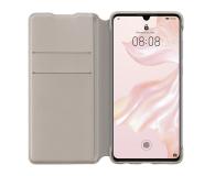 Huawei Wallet Cover do Huawei P30 khaki  - 484512 - zdjęcie 3