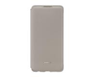 Huawei Wallet Cover do Huawei P30 khaki  - 484512 - zdjęcie 1
