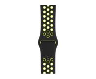 Apple Pasek sportowy Nike czarny/zielonożółty 40mm - 487887 - zdjęcie 1