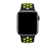 Apple Pasek sportowy Nike czarny/zielonożółty 40mm - 487887 - zdjęcie 2