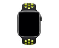 Apple Pasek sportowy Nike czarny/zielonożółty 44mm - 488004 - zdjęcie 2