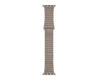 Apple Opaska Skórzana do Apple Watch piaskowiec - 488016 - zdjęcie 3