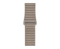 Apple Opaska Skórzana do Apple Watch piaskowiec - 488016 - zdjęcie 1