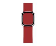 Apple Pasek z Klamrą Nowoczesną do Apple Watch rubinowy - 487898 - zdjęcie 1
