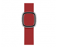 Apple Pasek z klamrą nowoczesną RED do koperty 40 mm L - 487897 - zdjęcie 1