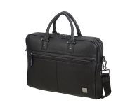 "Samsonite Senzil 15,6"" Leather Black - 489093 - zdjęcie 1"
