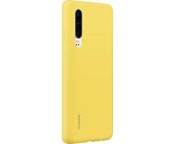 Huawei Silicone Case do Huawei P30 żółty - 484500 - zdjęcie 3