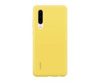 Huawei Silicone Case do Huawei P30 żółty - 484500 - zdjęcie 1