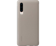 Huawei Smart View Flip Cover do Huawei P30 khaki  - 484509 - zdjęcie 2