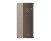 Huawei Smart View Flip Cover do Huawei P30 khaki  - 484509 - zdjęcie 1