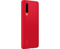 Huawei Silicone Case do Huawei P30 czerwony - 484498 - zdjęcie 3