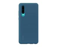 Huawei Silicone Case do Huawei P30 niebieski - 484499 - zdjęcie 1