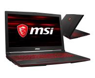 MSI GL63 i5-9300H/16GB/1TB+256 GTX1650  - 503110 - zdjęcie 1