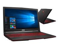 MSI GL63 i5-9300H/16GB/256/Win10X GTX1650  - 503107 - zdjęcie 1