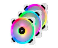 Corsair LL120 RGB White Triple Fan Kit + Lighting Node PRO - 484701 - zdjęcie 1