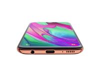 Samsung Galaxy A40 SM-A405FN Coral - 487576 - zdjęcie 6