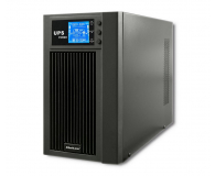 Qoltec Monolith (3000VA/2400W, PL, Schuko, IEC, USB, LCD) - 485356 - zdjęcie 1