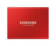 Samsung Portable SSD T5 1TB Red USB 3.1  - 490286 - zdjęcie 1