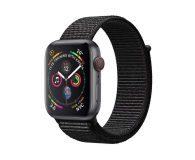 Apple Watch 4 40/SpaceGray Aluminium/BlackSport Loop LTE - 491818 - zdjęcie 1