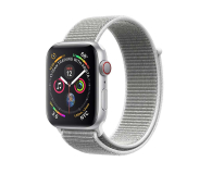 Apple Watch 4 44/Silver Aluminium/SeashellSport Loop LTE - 491852 - zdjęcie 1