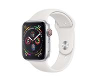 Apple Watch 4 40/Silver Aluminium/White Sport LTE - 491822 - zdjęcie 1