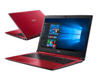 Acer Aspire 3 i3-8130U/4GB/256/Win10 FHD Czerwony - 492632 - zdjęcie 1