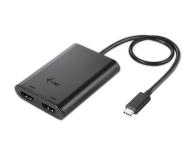 i-tec Adapter USB-C - 2x HDMI (Thunderbolt 3)  - 493646 - zdjęcie 1