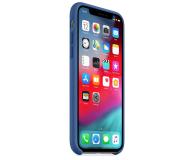 Apple iPhone XS Silicone błękitne - 493021 - zdjęcie 3