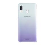 Samsung Gradation cover do Galaxy A40 fioletowe - 493079 - zdjęcie 1