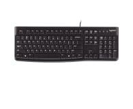 Logitech K120 Keyboard czarna USB - 57307 - zdjęcie 1