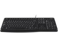 Logitech K120 Keyboard czarna USB - 57307 - zdjęcie 2
