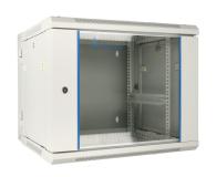 """ExtraLink Wisząca 19"""" 12U 600x600mm dwusekcyjna (szara)  - 489410 - zdjęcie 1"""
