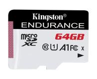 Kingston 64GB High Endurance 95/30 MB/s (odczyt/zapis)  - 489770 - zdjęcie 1