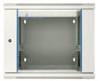 """ExtraLink Wisząca 19"""" 9U 600x600mm dwusekcyjna (szara)  - 489359 - zdjęcie 2"""