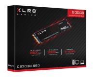 PNY 500GB M.2 PCIe NVMe XLR8 CS3030  - 490090 - zdjęcie 3