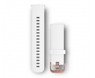 Garmin Pasek silikonowy biały  - 490336 - zdjęcie 1