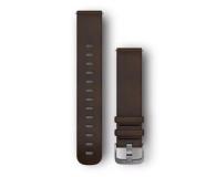 Garmin Pasek skórzany ciemno-brązowy do koperty 20mm - 490353 - zdjęcie 1