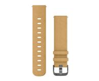 Garmin Pasek skórzany brązowy do koperty 20mm - 490356 - zdjęcie 1