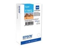 Epson T7012 cyan 3400str. (C13T70124010) - 75267 - zdjęcie 1