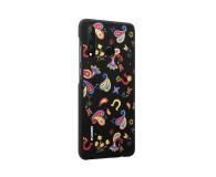 Huawei Plecki Dekoracyjne do Huawei P30 Lite Flower Black - 484515 - zdjęcie 3
