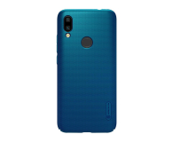 Nillkin Super Frosted Shield do Xiaomi Redmi Note 7 Blue - 495702 - zdjęcie 1