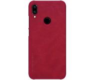 Nillkin Etui Skórzane Qin do Xiaomi Redmi Note 7 czerwony - 495704 - zdjęcie 2