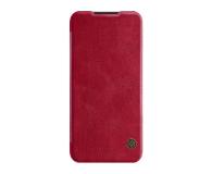 Nillkin Etui Skórzane Qin do Xiaomi Redmi Note 7 czerwony - 495704 - zdjęcie 1