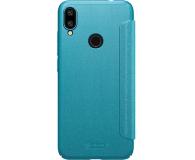 Nillkin Etui z Klapką Sparkle do Xiaomi Redmi Note 7 Blue - 495709 - zdjęcie 2