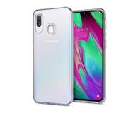Spigen Liquid Crystal do Samsung Galaxy A40 Clear  - 495696 - zdjęcie 1