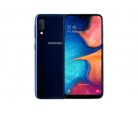Samsung Galaxy A20e blue + Galaxy Fit e - 522132 - zdjęcie 2