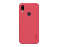 Nillkin Super Frosted Shield do Xiaomi Redmi 7 czerwony - 497150 - zdjęcie 1