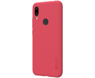 Nillkin Super Frosted Shield do Xiaomi Redmi 7 czerwony - 497150 - zdjęcie 3