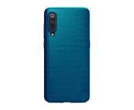 Nillkin Super Frosted Shield do Xiaomi Mi 9 niebieski  - 497137 - zdjęcie 1